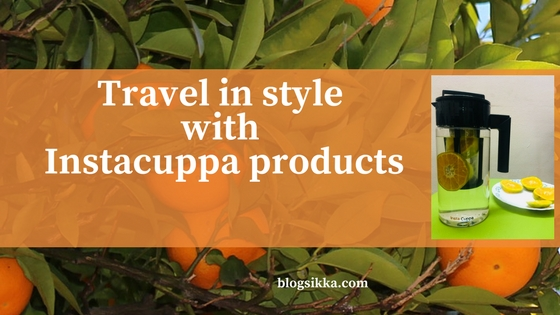 Travel in style with InstaCuppa products this summer