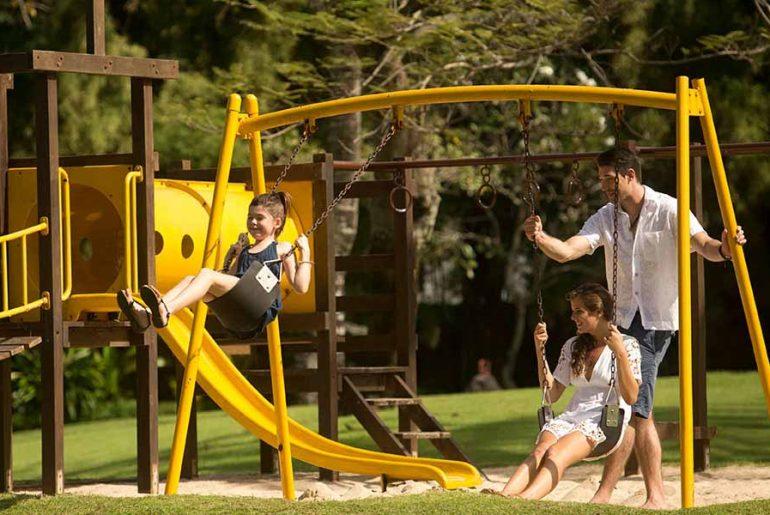 unwinding with kids